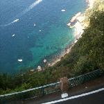 panorama terrazza hotel San Michele