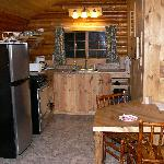 Silver Gate Cabin 2 Kitchen