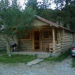 Outside Silver Gate Cabin 2