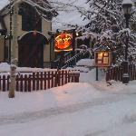 Adams Street entrance winter