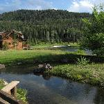 Adjacent to lodge at Teton Springs