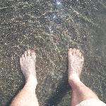 cold clear water