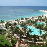 Room w/ a view, no crowds at The Reef Beach & Pool