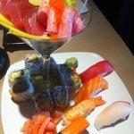 Sushi and Sashimi Combo