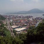 Monte Serrat - Vista de Santos 01