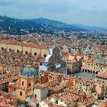 Piazza Maggiore - one block away