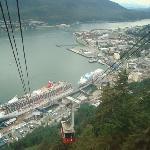 top of tram,Juneau