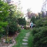 Social hour in the garden