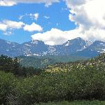 Our View of the Rocky Mountains from the Park