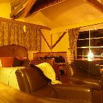 Cabin interior..cosy!