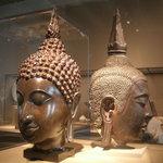 Balinese head sculpture