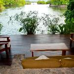 Serenity view from the Ecolodge