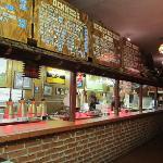 Bar-B-Q Bill's serving area