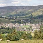 Reeth from near Grinton