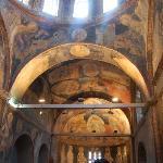 gli affreschi del nartece