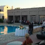 Soirée grecque à l'hôtel