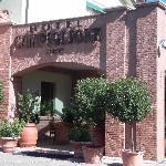 Entrata con dehor Hotel Campiglione