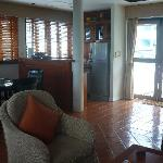 Living room - kitchenette
