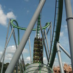 The Hulk Rollercoaster