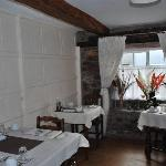 The charming dining room