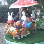 Zona del parque infantil del hotel.