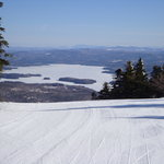 View of Lake Sunapee from Summit