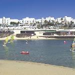 Great wiev of the surftstation at La Santa Sport