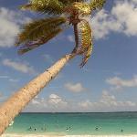 Praia particular do Hotel - Mar do Caribe!