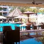 lobby & pool