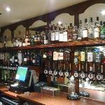 The Bar at The Mansfield House Hotel.