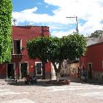 Plaza de Mexiamora - Behind Casa de Pita