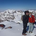 On the top of Toubkal