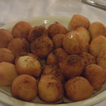 Traditional loukoumades...my mouth is watering just looking at this photo.