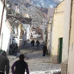 Una calle de Iruya
