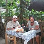 """Joshua, and I at """" El Jacalito"""""""