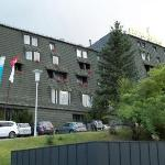 Front of Hotel Apina - sorry slightly blurred
