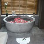 Indulge in a Lemongrass & Rose Petal  Bath