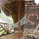 Porch with hammock