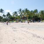 Small white-sand beach