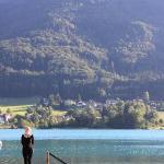 The lake at Gartenhotel Sonnleitn