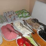 The Breakfast in City Guesthouse Istanbul