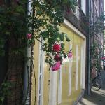 The unassuming entry to B&B Jordaan - but good value inside