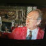 Old CRT television, not so good reception