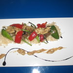 Grilled Vegetables on Rice