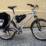 "Praha Bike - mountain bike with panniers 26"", 24gears"