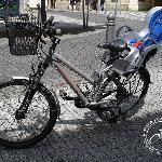 Praha Bike - mountain bike with child seat up to 22kg