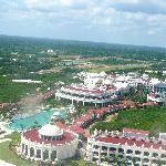 Hotel desde el aire