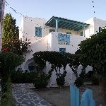 L'entrée de la résidence Ragousis