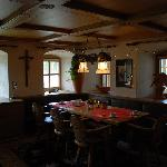Breakfast room, very Bavarian style