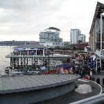 View of Cardiff Bay from Garcon's Restaurant